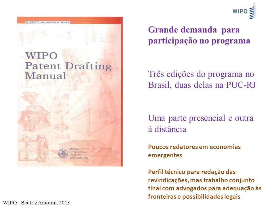 Grande demanda para participação no programa