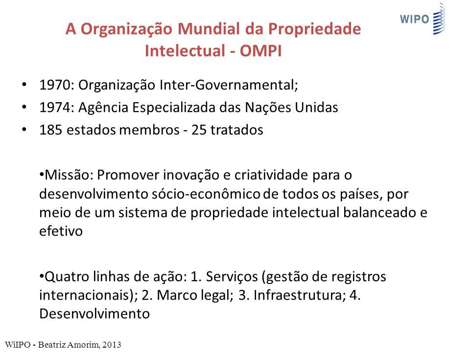 A Organização Mundial da Propriedade Intelectual - OMPI