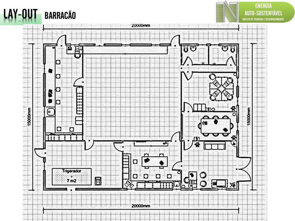 LAY-OUT BARRACÃO