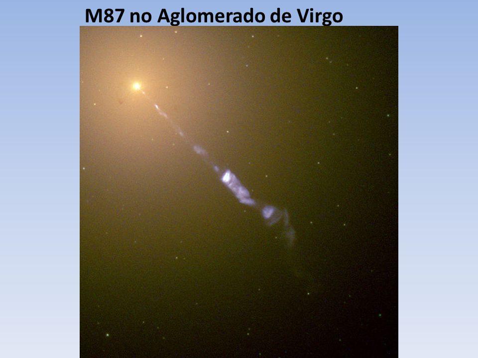 M87 no Aglomerado de Virgo