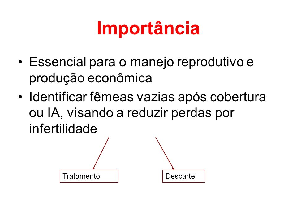 Importância Essencial para o manejo reprodutivo e produção econômica