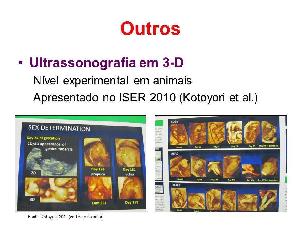 Outros Ultrassonografia em 3-D Nível experimental em animais