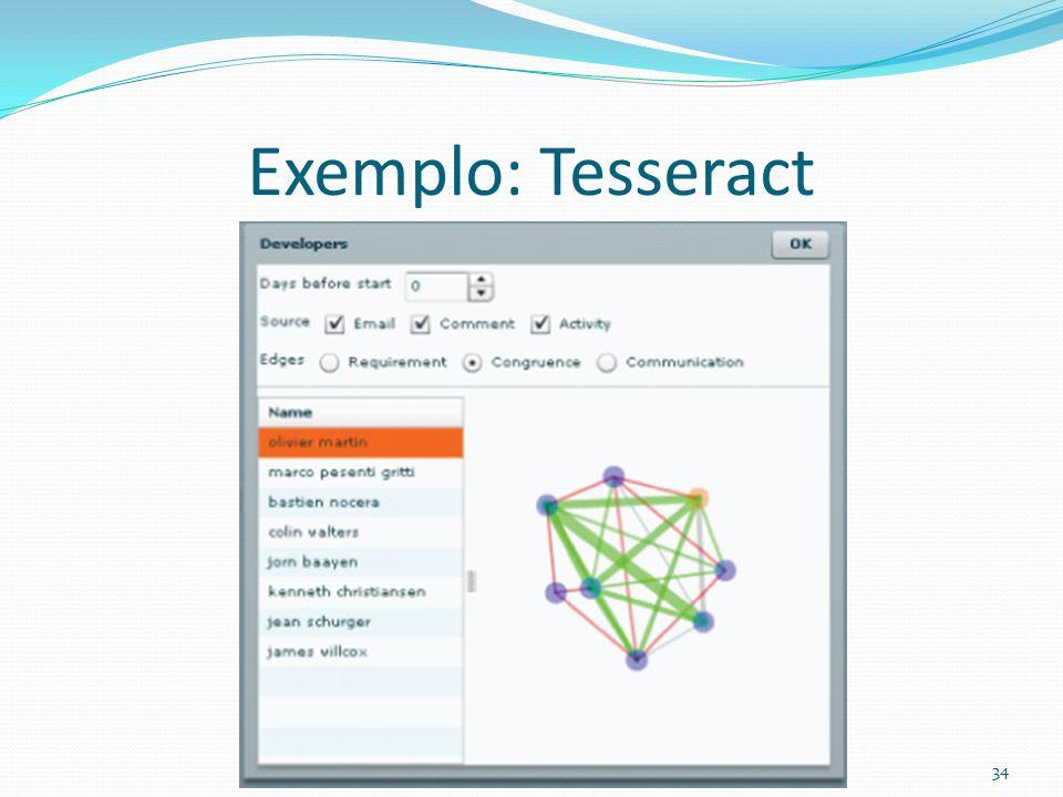 Exemplo: Tesseract