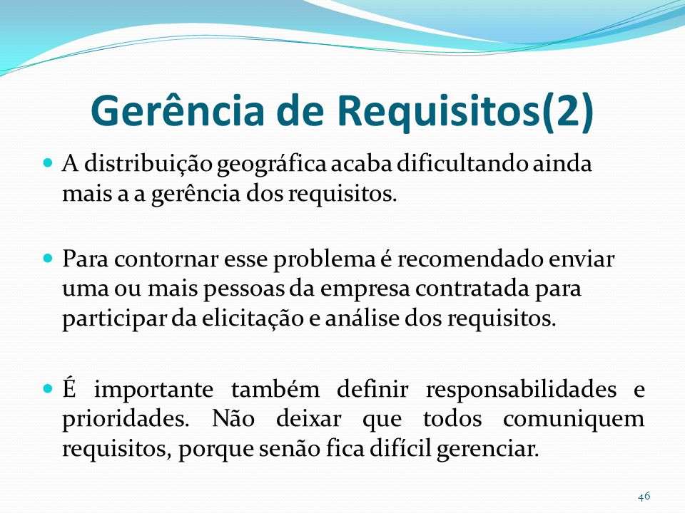 Gerência de Requisitos(2)