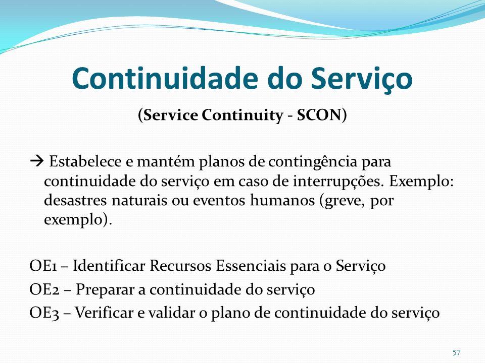 Continuidade do Serviço