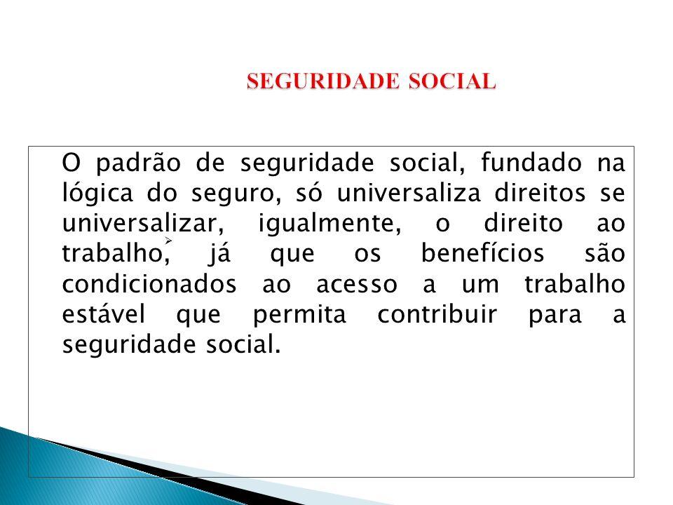 SEGURIDADE SOCIAL