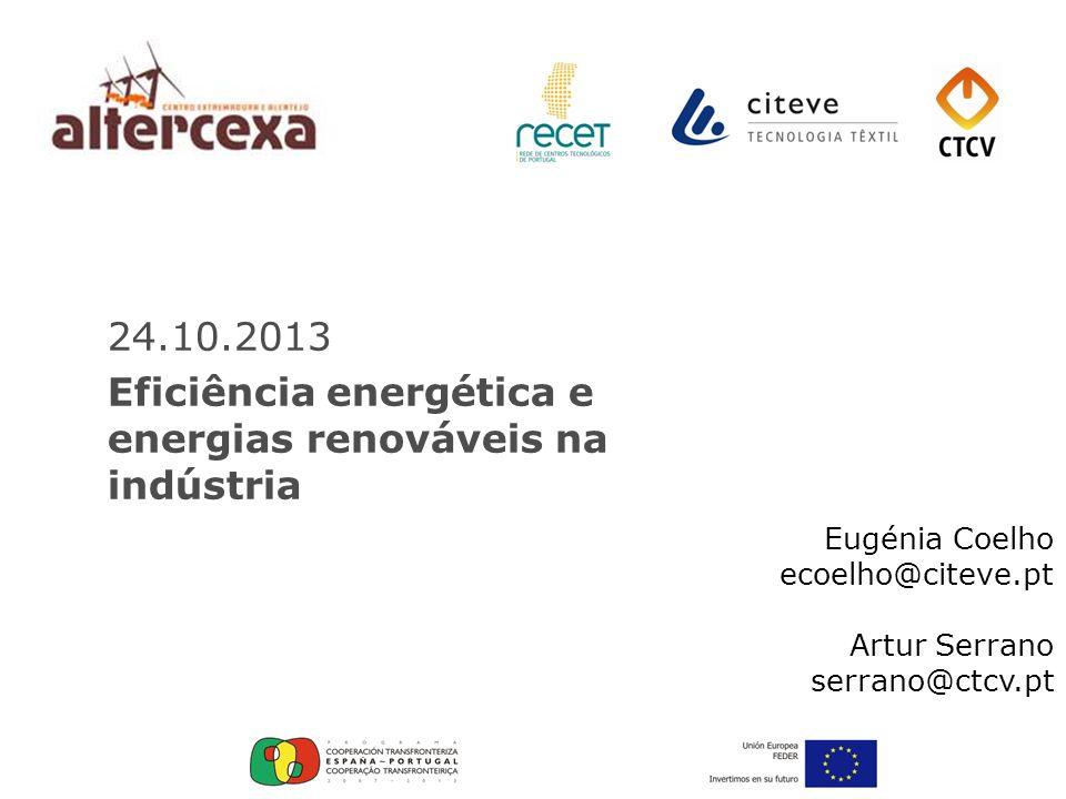 Eficiência energética e energias renováveis na indústria