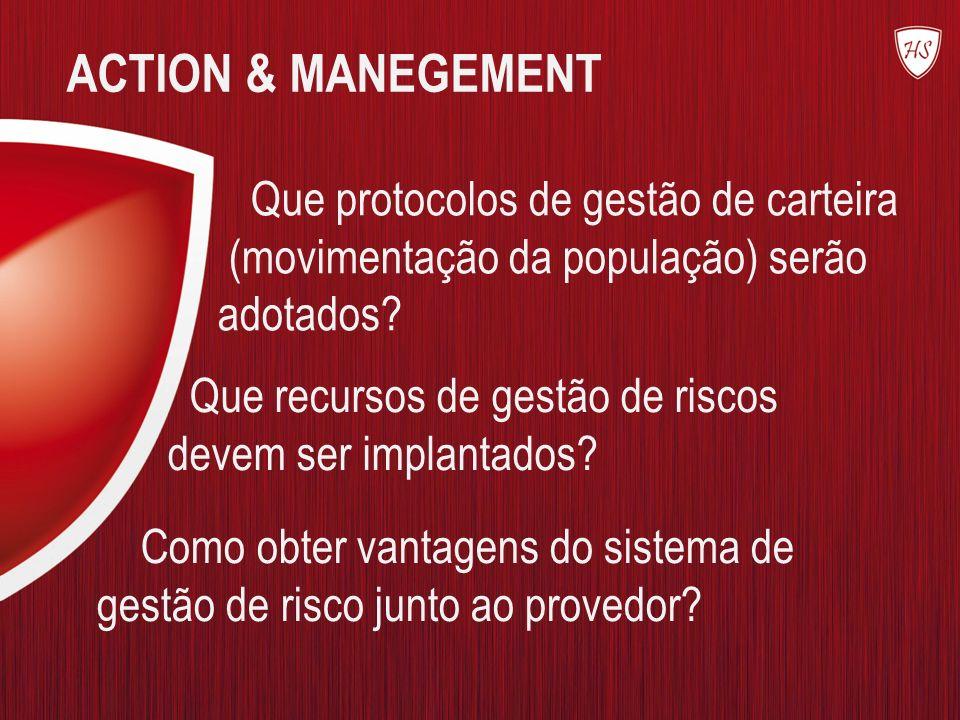 ACTION & MANEGEMENT Que protocolos de gestão de carteira