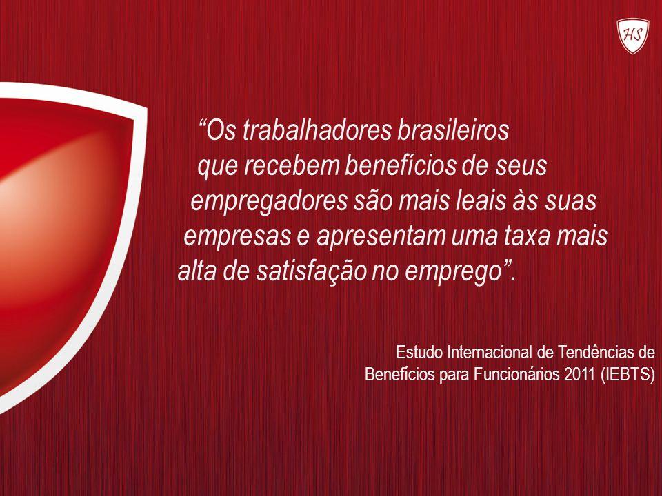 Os trabalhadores brasileiros que recebem benefícios de seus