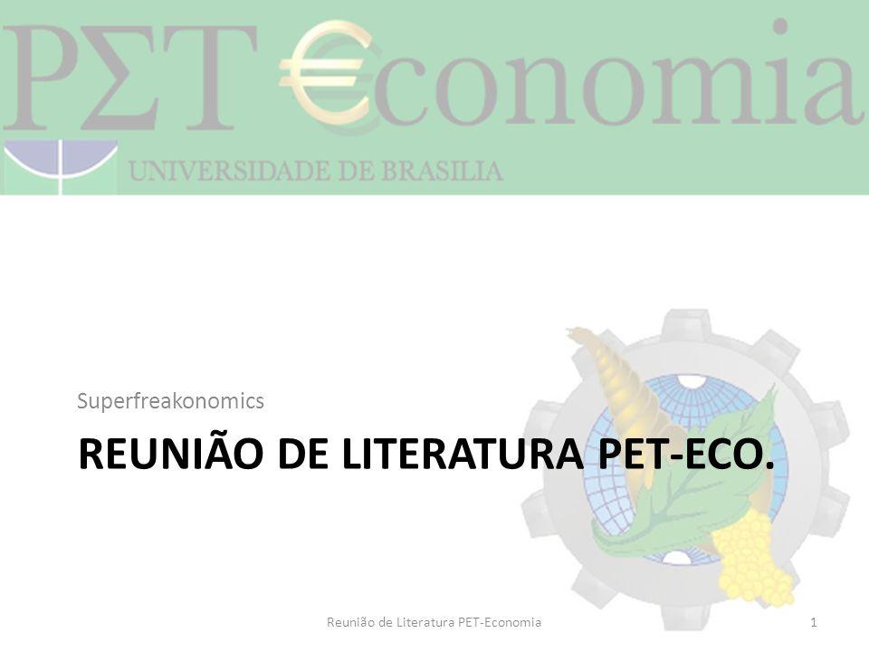 Reunião de literatura pet-eco.