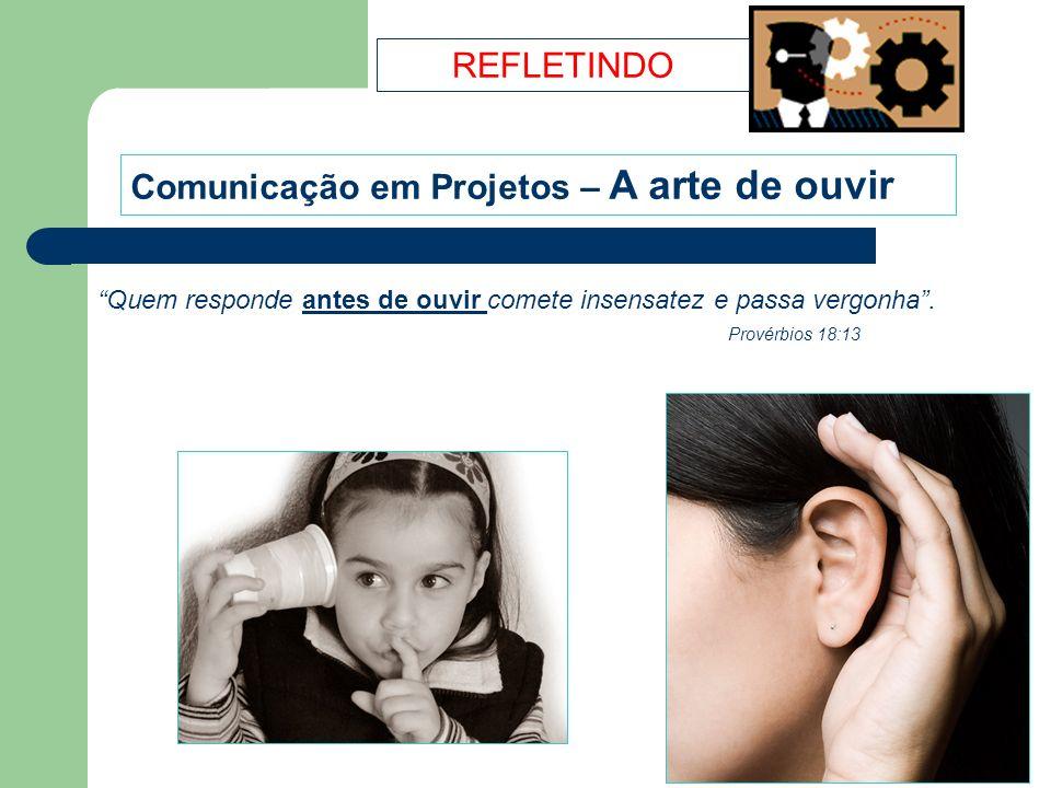 Comunicação em Projetos – A arte de ouvir