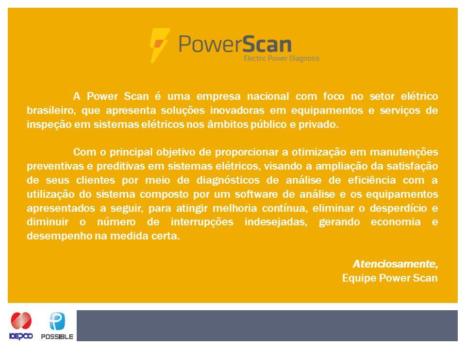 A Power Scan é uma empresa nacional com foco no setor elétrico brasileiro, que apresenta soluções inovadoras em equipamentos e serviços de inspeção em sistemas elétricos nos âmbitos público e privado.