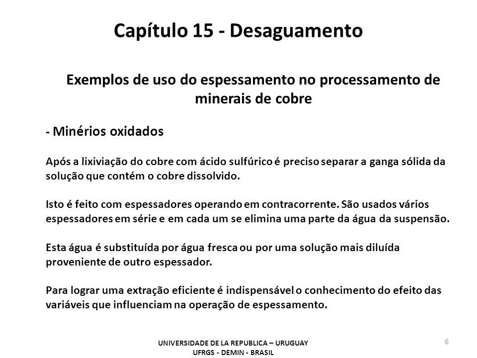 Capítulo 15 - Desaguamento