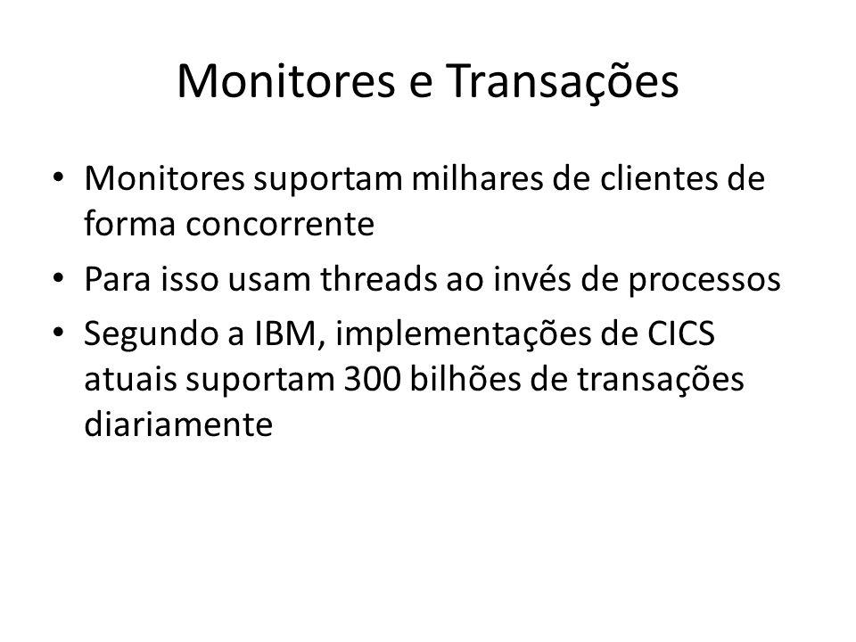 Monitores e Transações