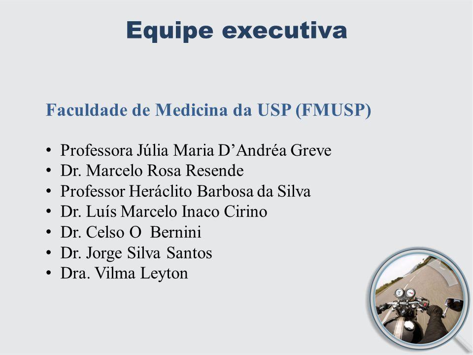 Equipe executiva Faculdade de Medicina da USP (FMUSP)