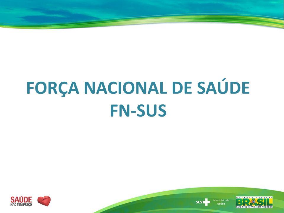 FORÇA NACIONAL DE SAÚDE FN-SUS