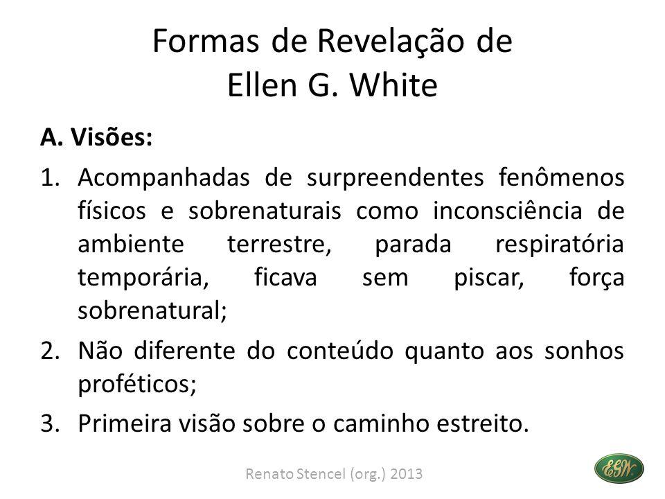 Formas de Revelação de Ellen G. White