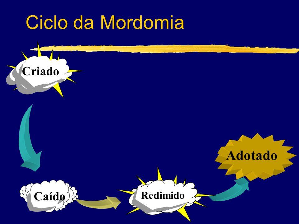 Ciclo da Mordomia Criado Adotado Redimido Caído