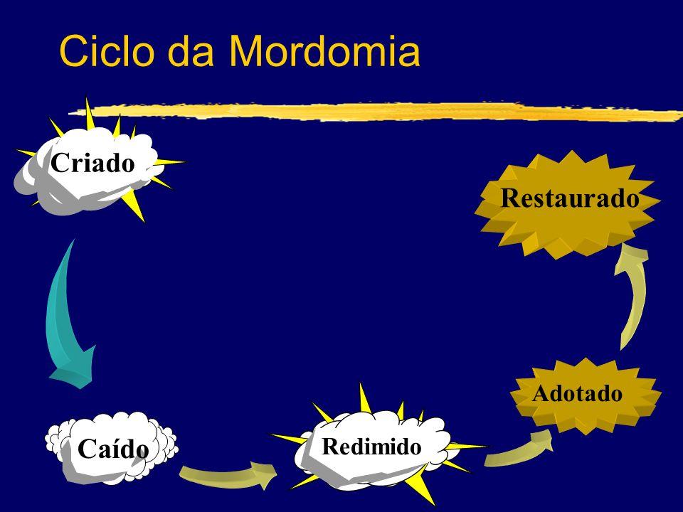 Ciclo da Mordomia Criado Restaurado Adotado Redimido Caído