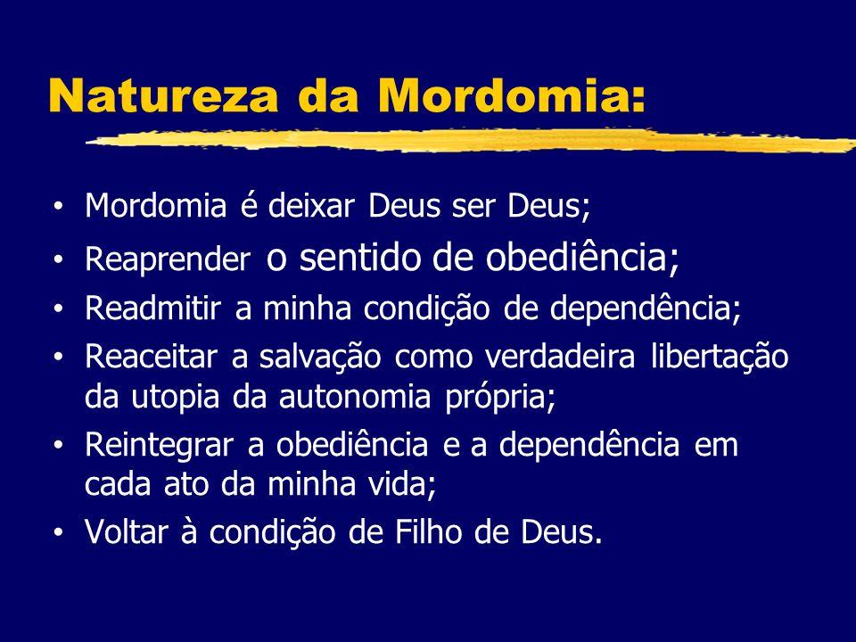 Natureza da Mordomia: Mordomia é deixar Deus ser Deus;