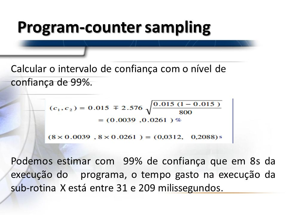 Program-counter sampling