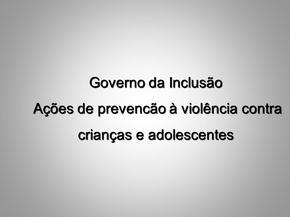 Ações de prevencão à violência contra crianças e adolescentes