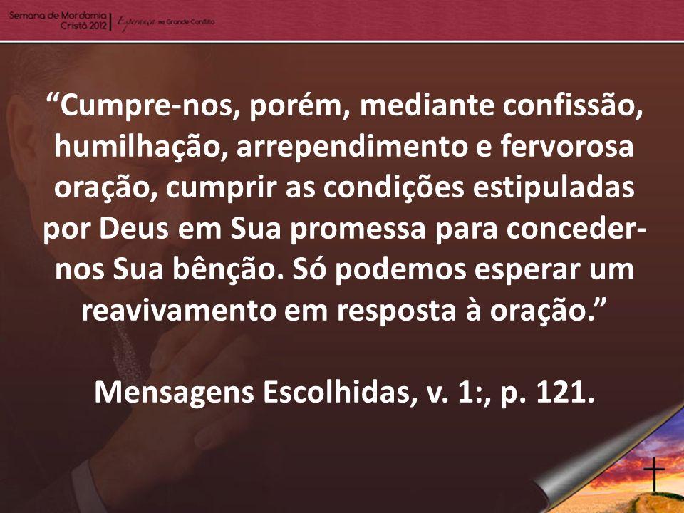 Mensagens Escolhidas, v. 1:, p. 121.