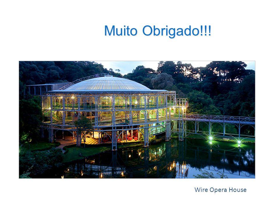 Muito Obrigado!!! Wire Opera House