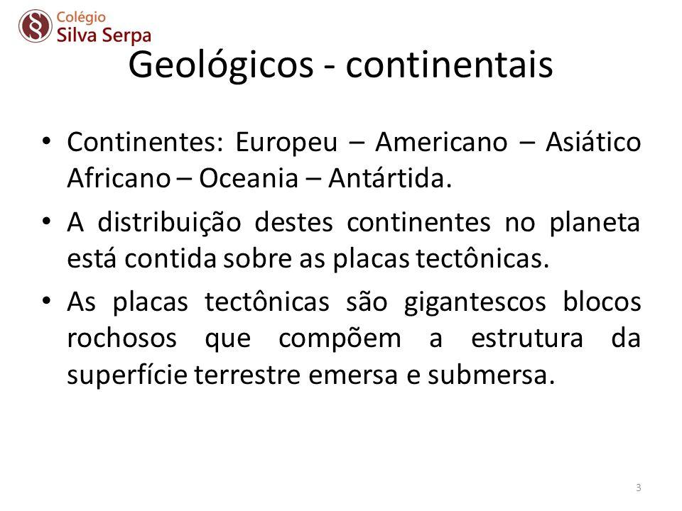 Geológicos - continentais