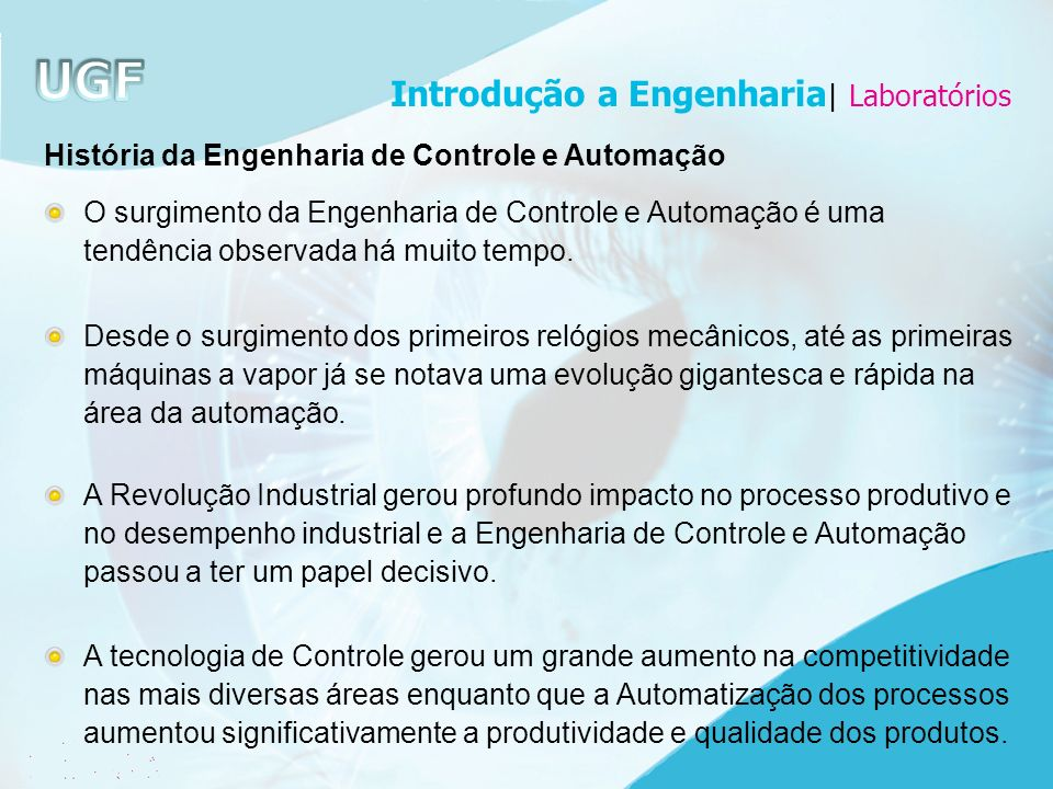 Introdução a Engenharia| Laboratórios