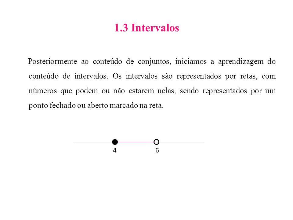1.3 Intervalos