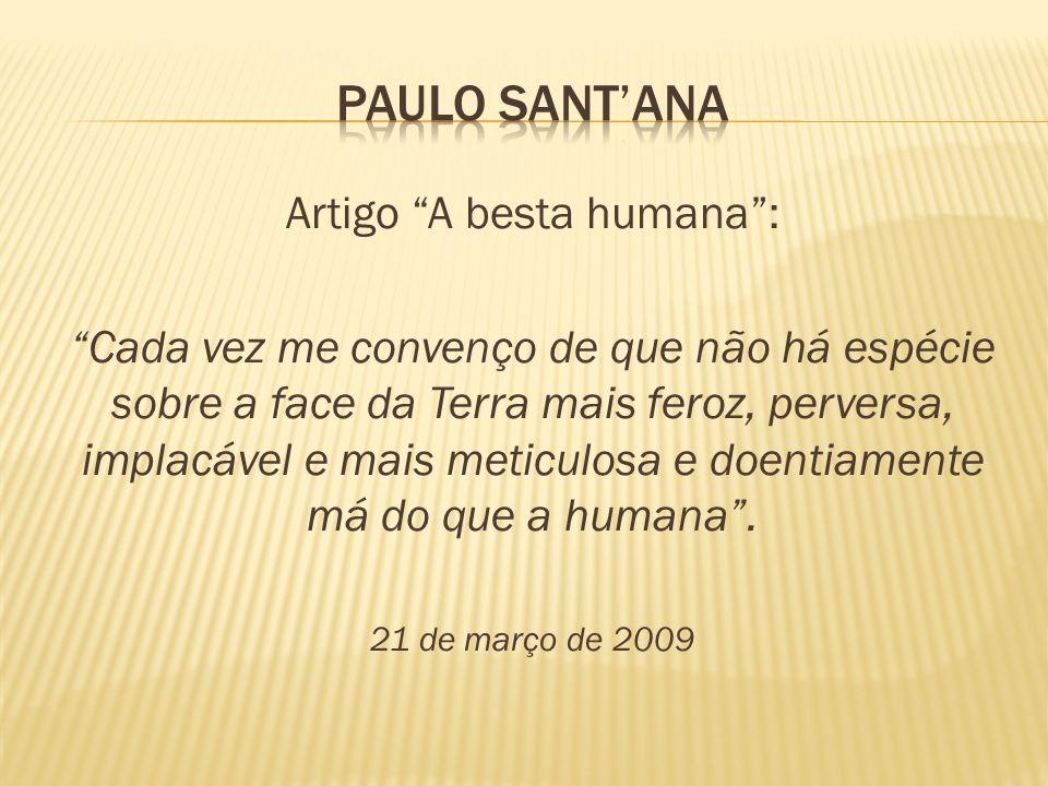 Artigo A besta humana :