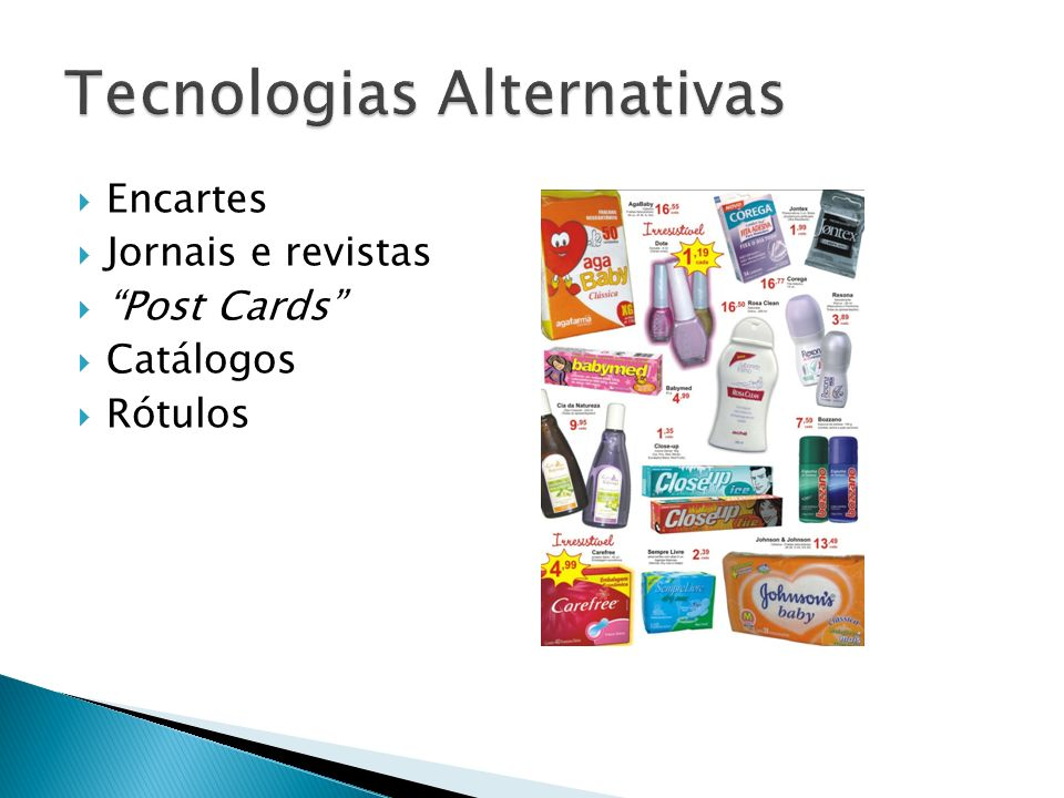 Tecnologias Alternativas