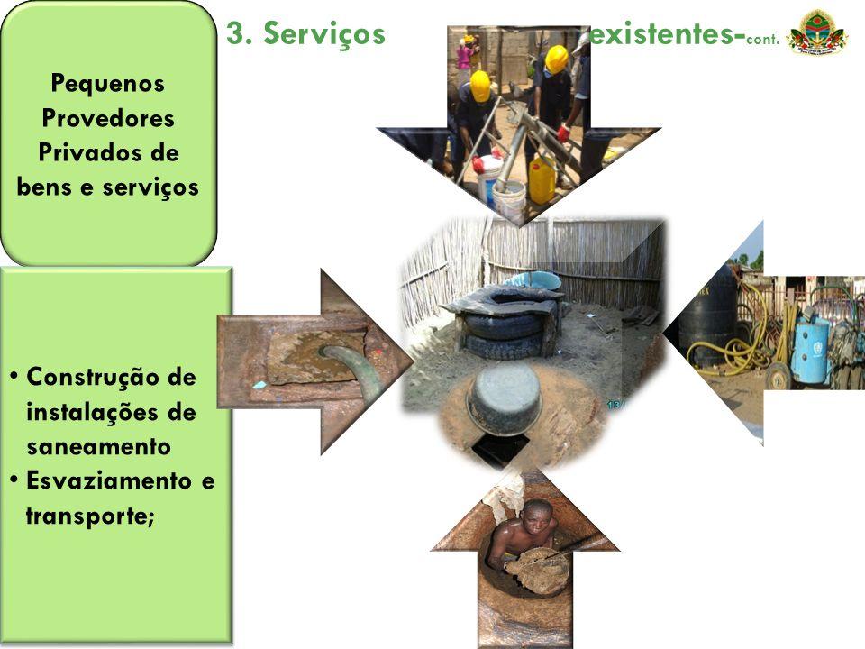 Pequenos Provedores Privados de bens e serviços