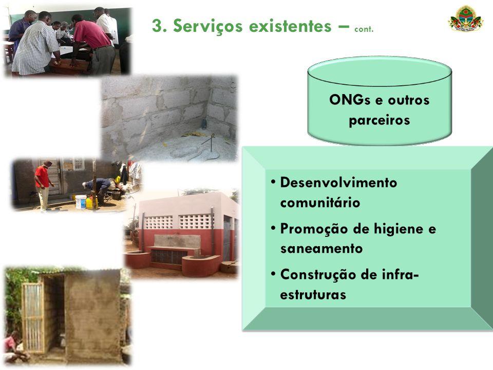 ONGs e outros parceiros