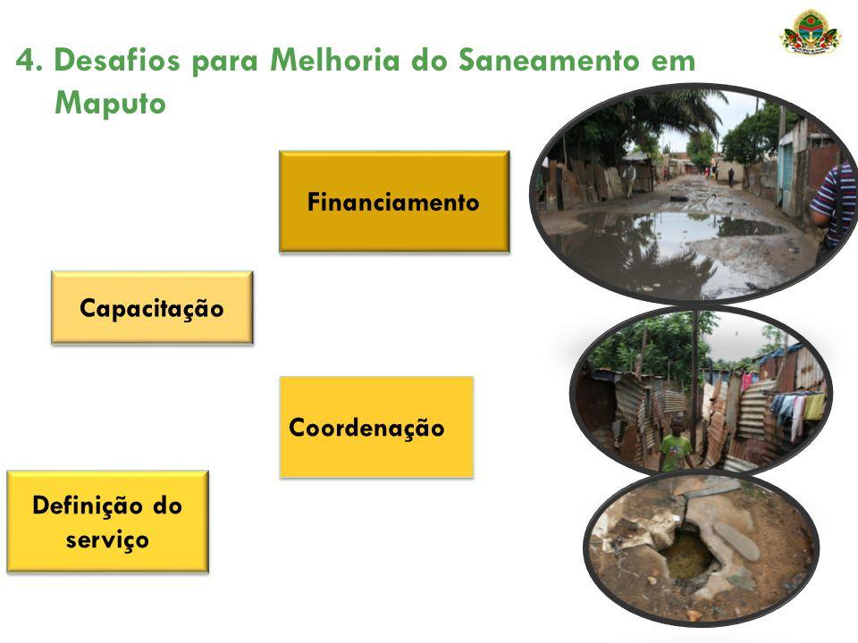 4. Desafios para Melhoria do Saneamento em Maputo