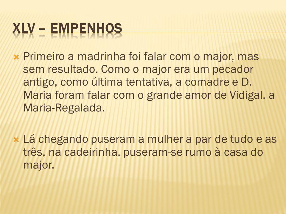 XLV – Empenhos