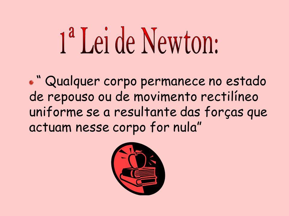 1ª Lei de Newton: