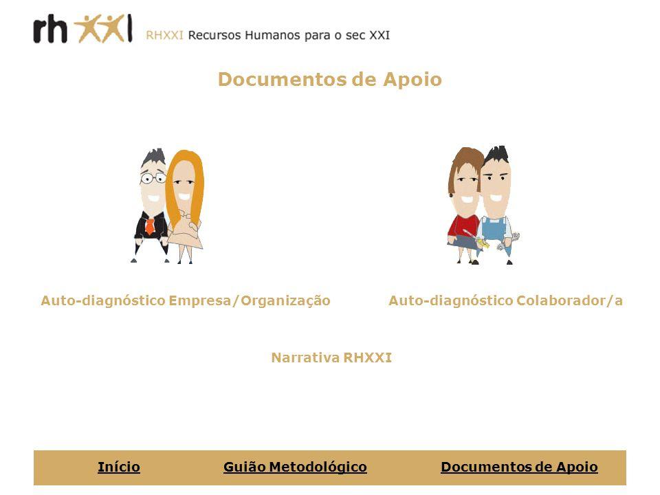Documentos de Apoio Auto-diagnóstico Empresa/Organização
