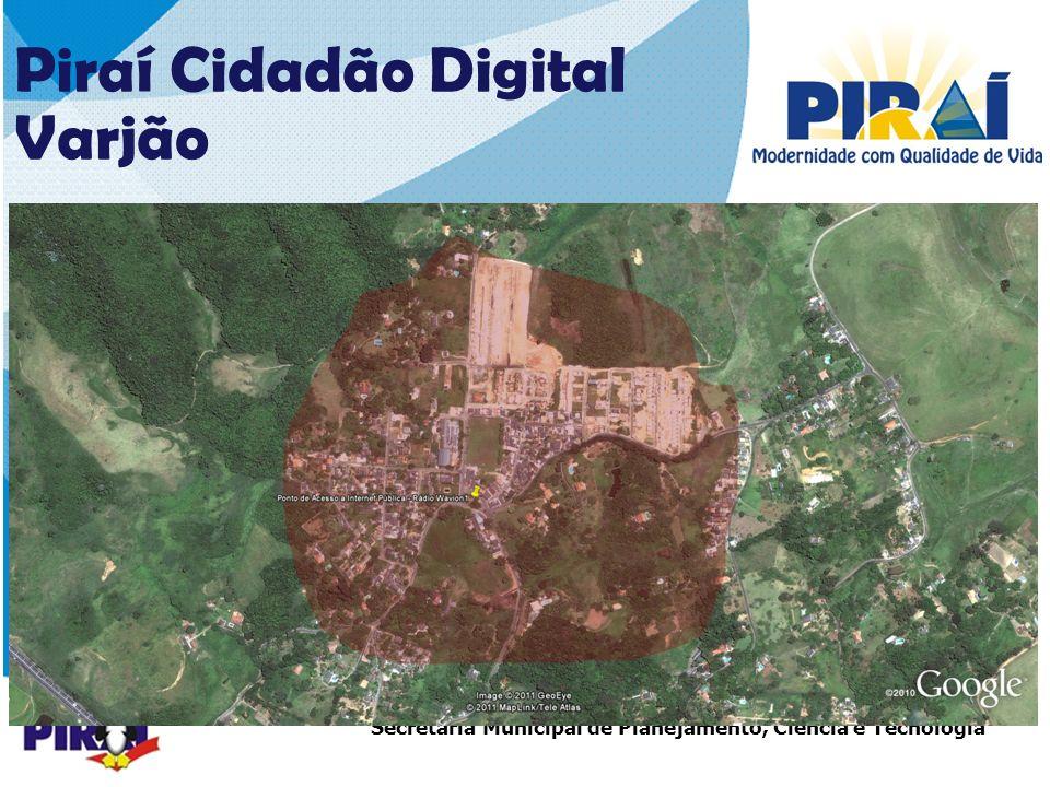 25252525 Piraí Cidadão Digital Varjão COBERTURA – 1ª ETAPA