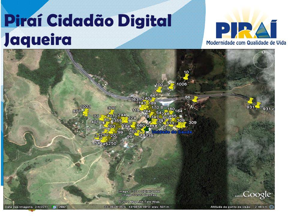 26262626 Piraí Cidadão Digital Jaqueira COBERTURA – 1ª ETAPA