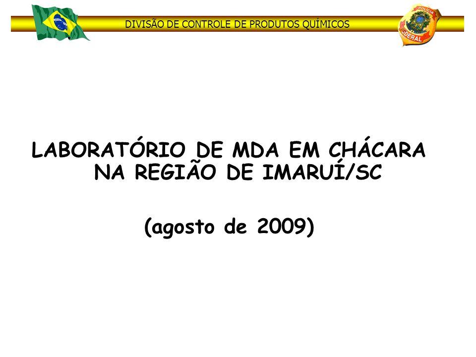 LABORATÓRIO DE MDA EM CHÁCARA NA REGIÃO DE IMARUÍ/SC (agosto de 2009)