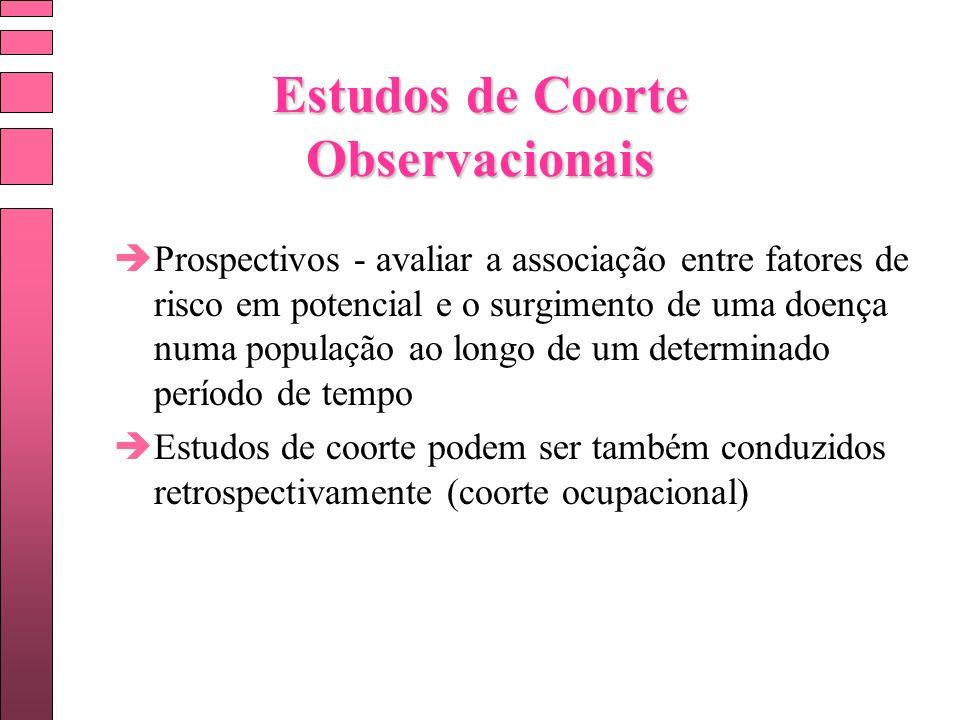 Estudos de Coorte Observacionais