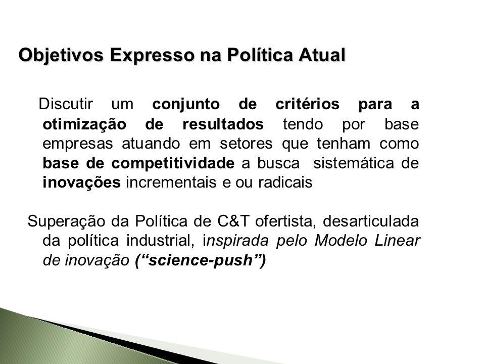 Objetivos Expresso na Política Atual