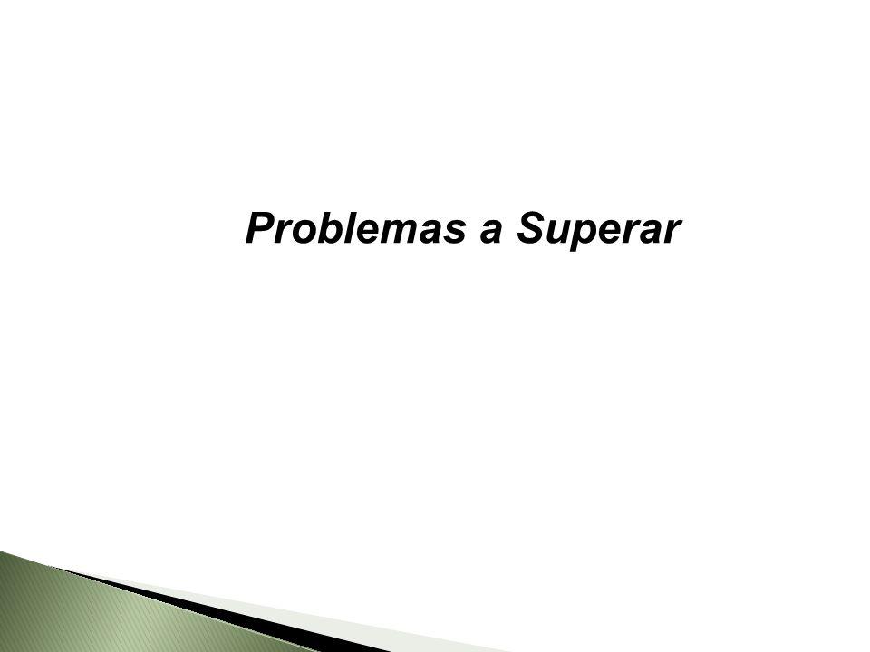 Problemas a Superar
