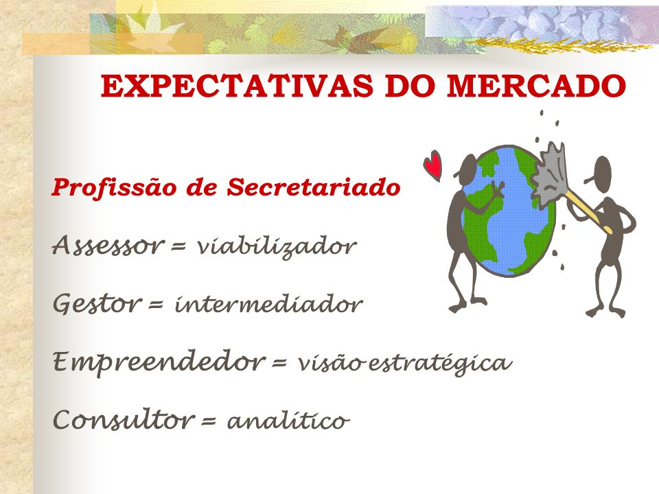 EXPECTATIVAS DO MERCADO