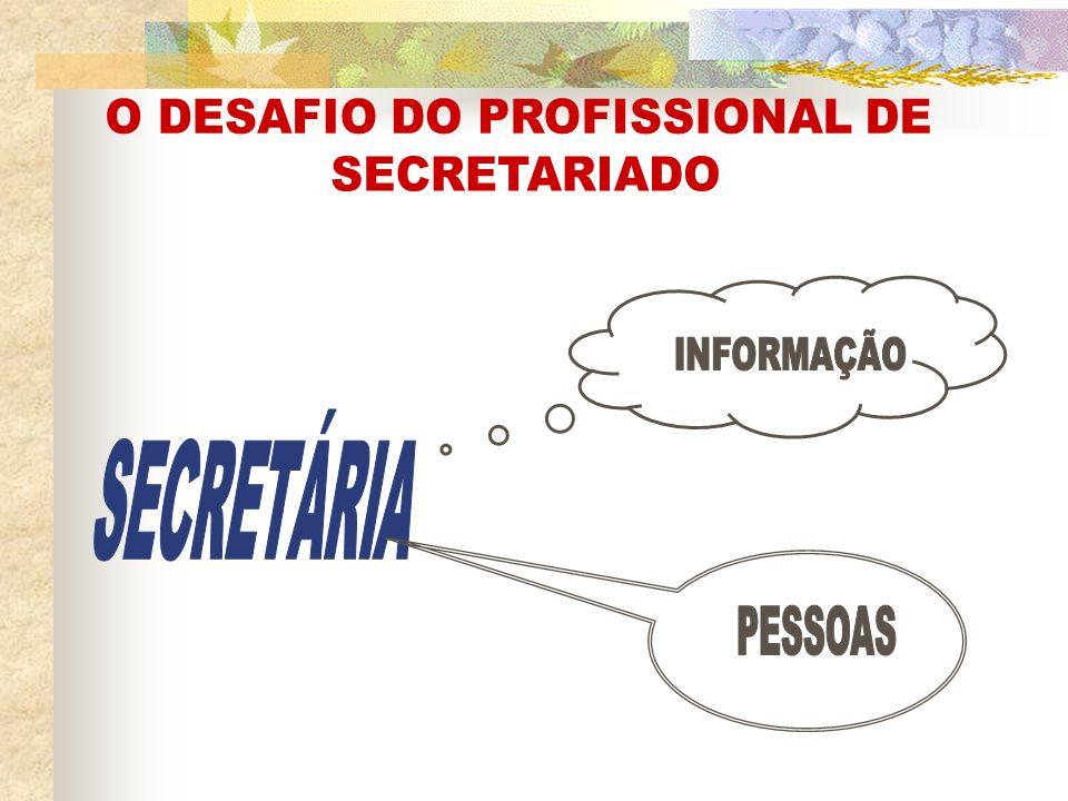 O DESAFIO DO PROFISSIONAL DE