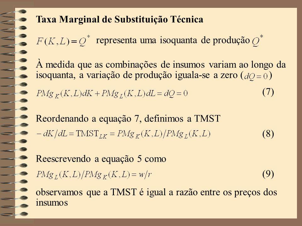 Taxa Marginal de Substituição Técnica