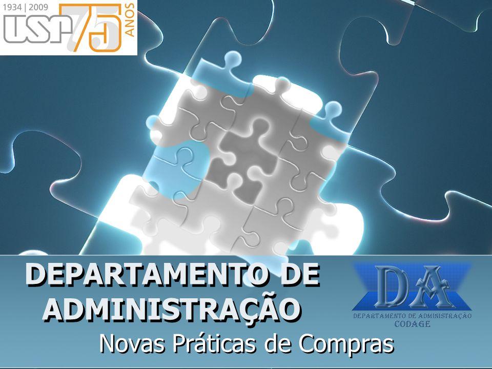 DEPARTAMENTO DE ADMINISTRAÇÃO