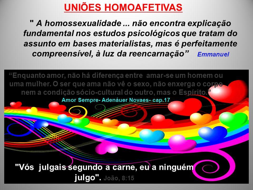 UNIÕES HOMOAFETIVAS